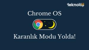 Chrome OS karanlık modu