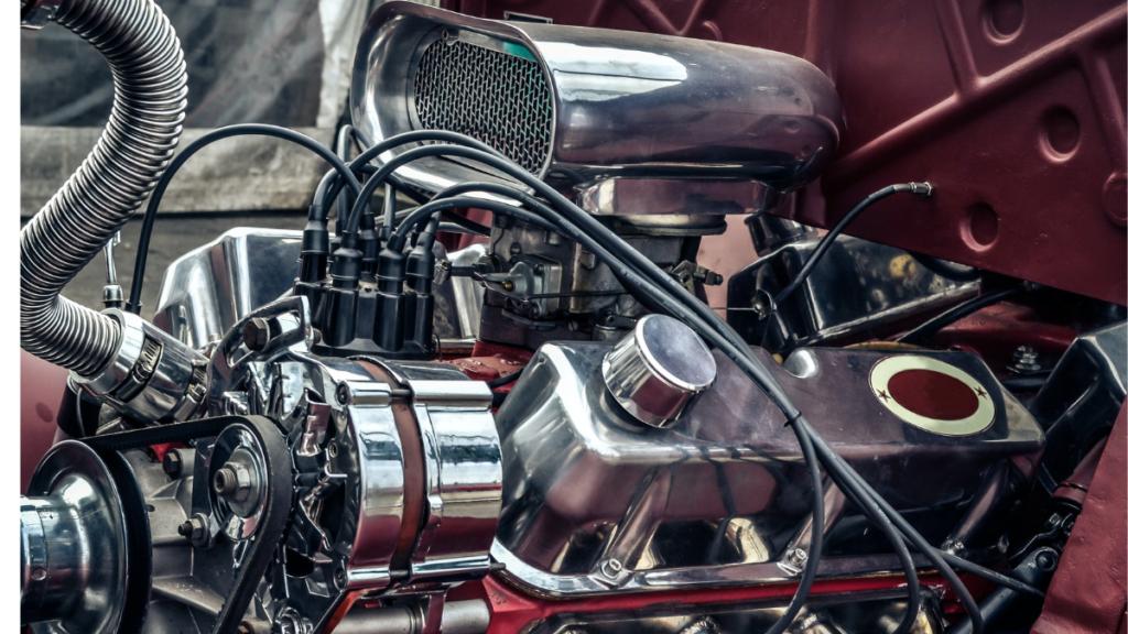 dizel yakıtla çalışan motor